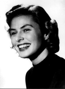 Actress Ingrid Bergman is shown in a 1957 file photo. AP Photo/File