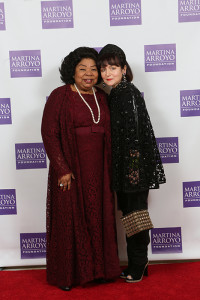 Soprano legend Martina Arroyo & Fashion Designer Joanna Mastroianni Photo by Jen Joyce Davis