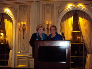 Met Mezzo Honoree Delora Zajick & Met Mezzo & Opera Index President Jane Shaulis. Photo by Judy Pantano