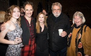 Kayli Carter, Mark Rylance, Holly Hunter, Louis Jenkins and Ann Jenkins. Photo by Rob Abruzzese