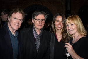 John Dockery, Gabriel Byrne, Hannah Beth Byrne and Anne Dockery. Photo by Rob Abruzzese