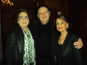 Soprano Diana Soviero, Opera Director Bernard Uzan & Gloria Gari/Giulio Gari Fdn. Photo by Judy Pantano