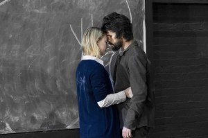 "Saoirse Ronan and Ben Whishaw in ""The Crucible,"" directed by Ivan van Hove. Photos by Jan Versweyveld"