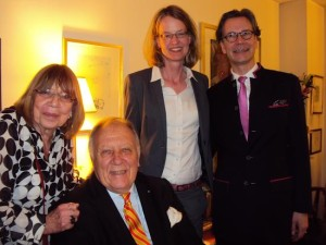 Renate Oldoerp, Gregorij von Leitis, Christine Hullman & Michael Lahr. Photo by Judy Pantano