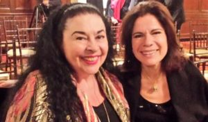 Sopranos Catherine Malfitano & Ana Maria Martinez, Photo by Judy Pantano