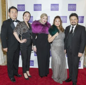 Singers Seok Jong Baek, Hongni Wu, Holly Cameron, Yunnie Park & Dangelo Diaz Photo by Simon Luethi