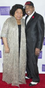 Met Opera Soprano Martina Arroyo & Broadway Star Ben Vereen Photo by Simon Luethi 8 Salamander Productions NYC