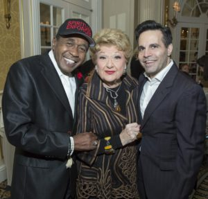 Ben Vereen, Marilyn Maye & Mario Cantone Photo by Simon Luethi