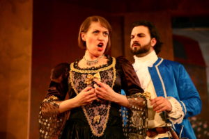 Donna Anna (Christina Rohm) and Don Ottavio (Christopher Nelson) Photo by Sabrina Palladino