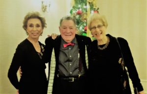 President Sachi Liebergesell, Reviewer Nino Pantano, Pianist Arlene Shrut. Photo by Judy Pantano